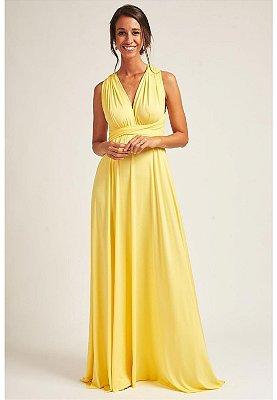 Vestido Mil Formas Amarelo