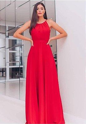 Vestido Faixa Vermelho