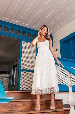 Vestido Graziela Off-White