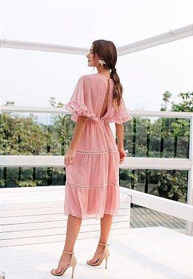 Vestido Emília Rosa