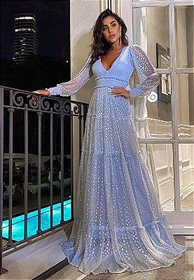 Vestido Désirée Azul Serenity
