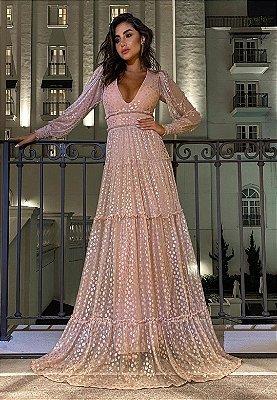 Vestido Désirée Rosé