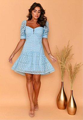 Vestido Verona Azul Serenity