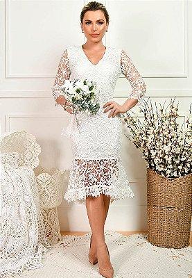 Vestido Laura Off-White