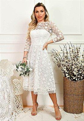 Vestido Amara Off-White