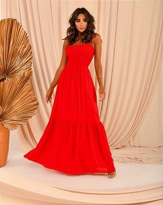 Vestido Lola vermelho