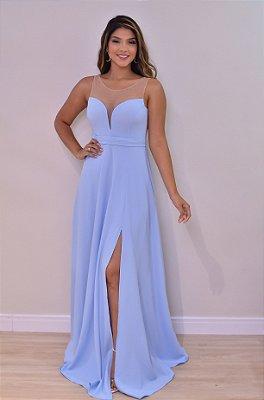 Vestido Anita azul serenity