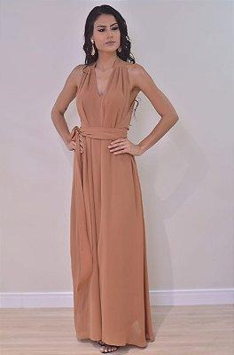 Vestido Mel Terracota