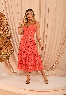 Vestido Mirella Coral