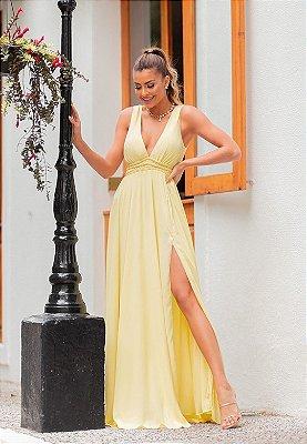 Vestido Serena Amarelo