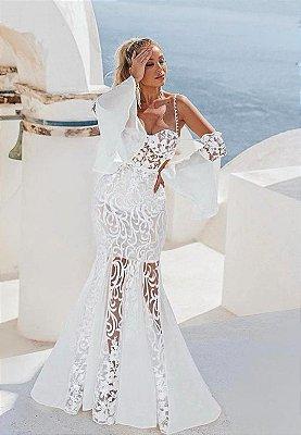 Vestido Ana Laura Branco