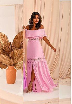 Vestido Silk Lilás