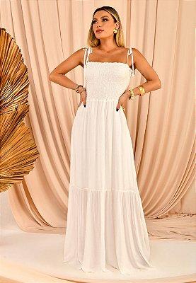 Vestido Lola Branco