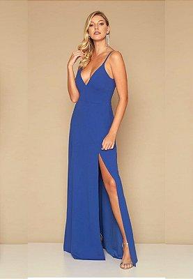 Vestido Queridinho Azul Royal