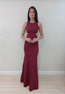 Vestidos Vivian Marsala