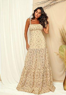 Vestido Lucia Dourado