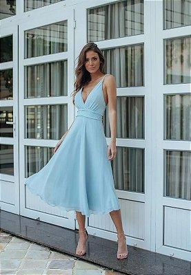 Vestido Bete Azul Serenity