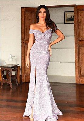 Vestido Denise Roxo