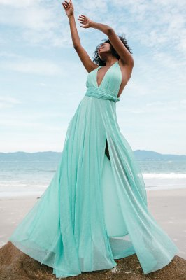 Vestido Mil Formas Lurex Tiffany