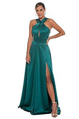 Vestido Marisa Verde Musgo