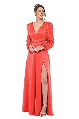 Vestido Cecília Coral