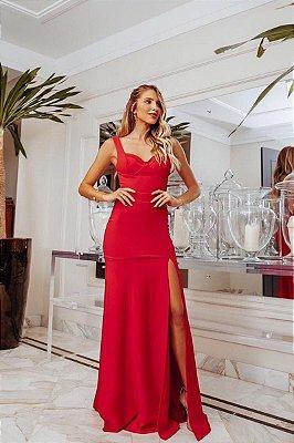 Vestido Roseli Vermelho