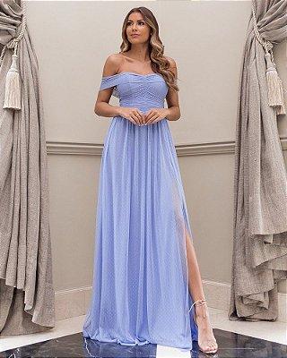 Vestido Munique Azul Serenity