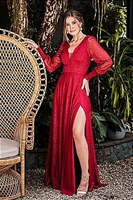 Vestido Scarlet Marsala