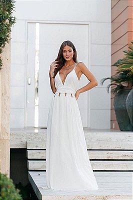 Vestido Sandra Off-White