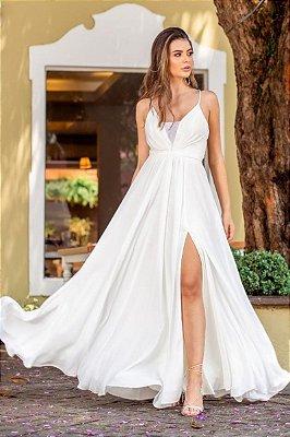 Vestido Flora Off White
