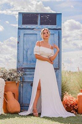 Vestido Amabel Off White