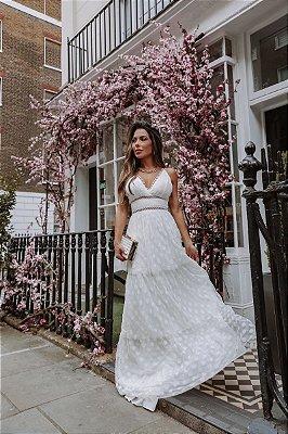 Vestido Ivana Off White