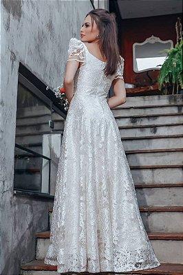 Vestido Marie Off White