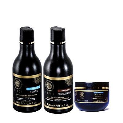 Kit Pós Química e Hidratação - Shampoo Speed  + Condicionador Nutri Coconut + Máscara Speed - 300gr.
