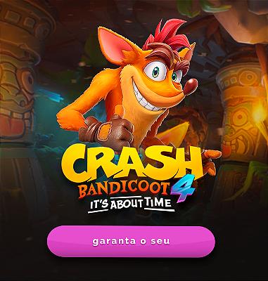 Crash Bandicoot 4: It's About Time - Ps4 e Ps5 Digital