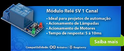 Módulo Relé 5V 1 Canal