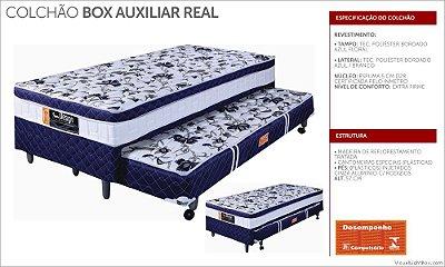 Colchobox Design Real 0,88 solteiro com auxiliar
