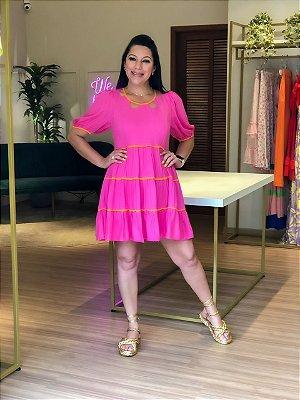 Vestido Curto Lov.it Pink