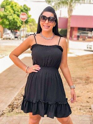 Vestido Fernanda Preto