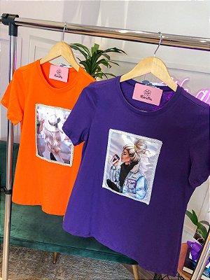 T-shirt Fashion Bordada
