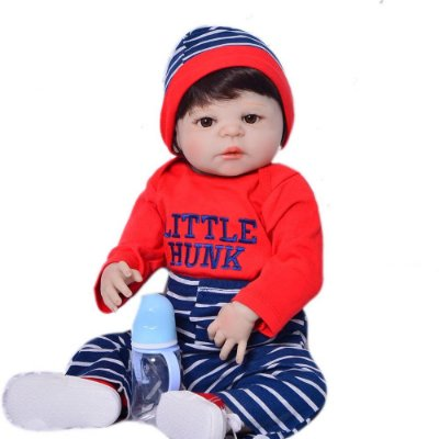 Bebê Guto| 100% Silicone |Pode Molhar e dar Banho