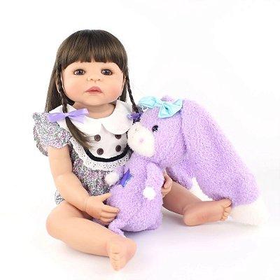 Bebê Dani | 100% Silicone | Pode dar Banho
