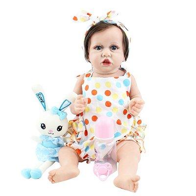 Bebê Lelê | 100% Silicone | Pronta Entrega