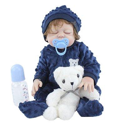 Bebê Bento  100% Silicone  Pode Molhar e dar Banho