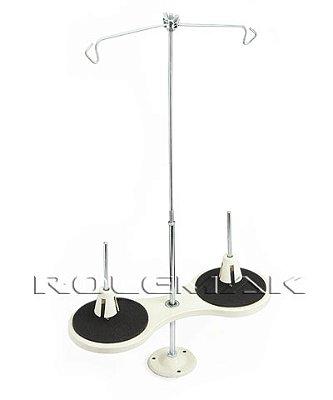 Porta Fio de Ferro com 2 Cones para Reta Industrial, Ziguezague Cod:228776/2