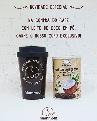 Café com Leite de Coco em Pó + Copo Café  Mammoth