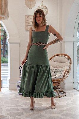 Vestido Valência Verde