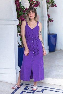 Vestido Lisboa Púrpura