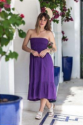 Vestido Áustria Púrpura