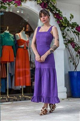 Vestido Valência Púrpura